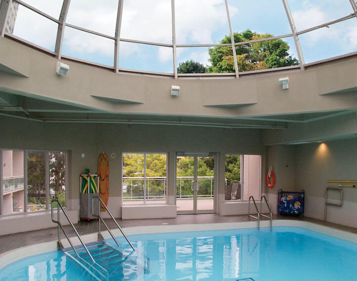 The swimming pool the briton house for Swimming pool supplies toronto